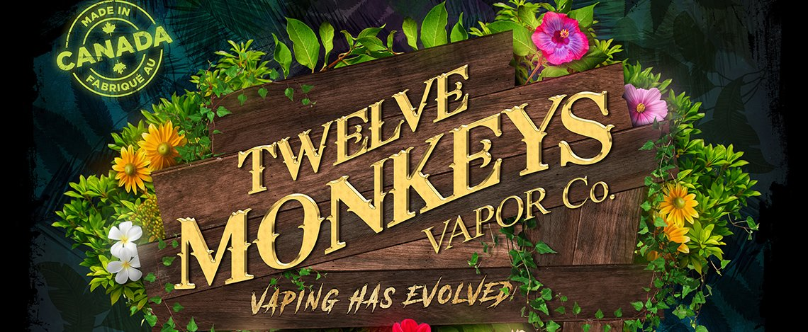 12 MONKEYS VAPOR EJUICE CANADA